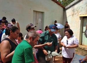 Prefeitura de Matinhas realiza tradicional distribuição de peixe